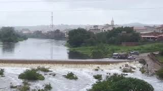Chuvas Fortes em Jucas, Ceará.