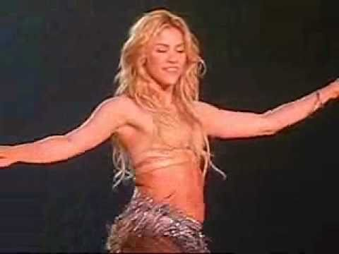 SHAKIRA BELLY DANCING!! BEST VIDEO EVER!!