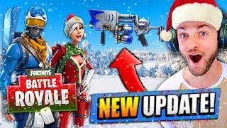 *NEW* CHRISTMAS UPDATE for Fortnite: Battle Royale!