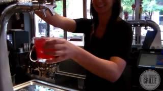 Pomegranate Margarita at Del Frisco's Grille