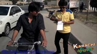Traffic Police of Karachi Vs Other Cities By Karachi Vynz Official   funny clip in the world