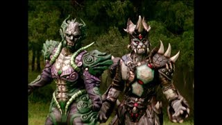 Power Rangers Operation Overdrive - Man of Mercury - Fearcats First Scene and Battles | Cats