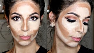 How to Cream Contour & Highlight Drugstore Products