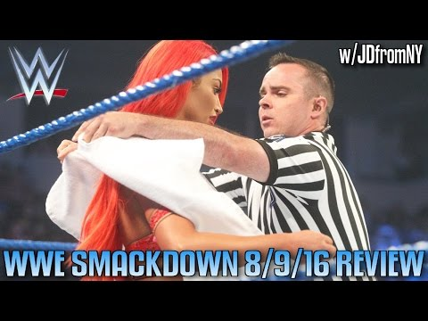 WWE Smackdown Live 8/9/16 Review: Eva Marie's