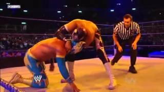 WWE Rey Mysterio vs  Sin Cara