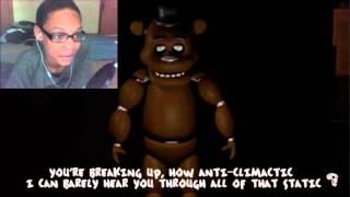 Slenderman Vs Freddy Fazbear Rap Battle REACTION | SICK BURNZ