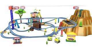 train videos - cartoon for kids - train cartoon - trains for kids - car cartoon