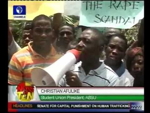 Abia Rape Saga:ABSU Students protest over accusation
