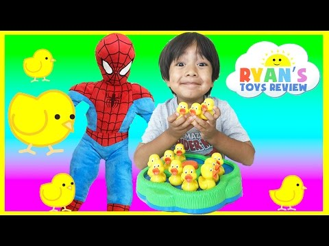 Lucky Duck Game for kids with Egg Surprise Toys