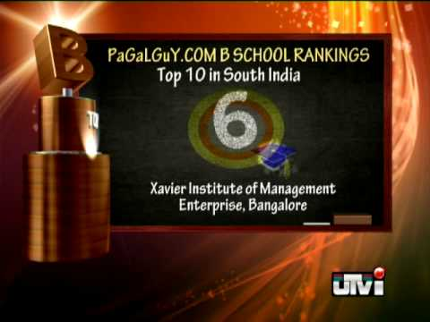 Top 10 b schools in south India