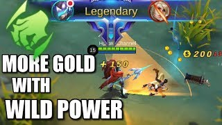 MORE GOLD WITH WILD POWER OF JUNGLE EMBLEM