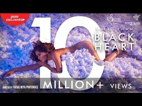 Xxx Mp4 Black Heart Official HD Gaana Exclusive Sara Khan The Bucketlist Films Slash Productions 3gp Sex