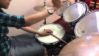 Como acompañar coros de adoracion bateria How to play slow songs drums