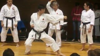 Sensei Tatsuya Naka, ejemplos Heian Nidan