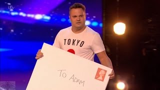 Britain's Got Talent 2017 Adam Keeler Full Audition S11E01