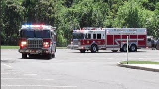 My Own Fire Truck Parade! - Wyckoff Fire Department