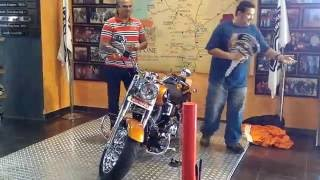 DELIVERY OF THE FAT BOY HARLEY DAVIDSON MARCH 2016