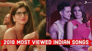 2018 Top 20 Most Viewed Indian/Bollywood Songs on YouTube