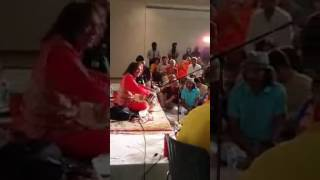 Ustad Tari Khan Playing Rupak Taal In Canada Audience Ghulam Ali khan