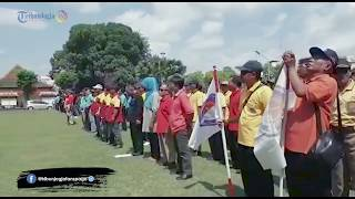 Ratusan Perangkat Desa Asal Klaten Ikut Demo Di Istana