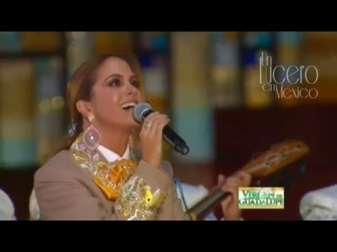 Lucero Mi Querida Guadalupe Mañanitas a la Virgen de Guadalupe. 2015