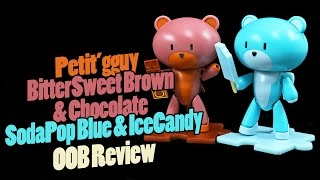 1063 - HGPG Petit'gguy BitterSweet Brown & Chocolate and SodaPop Blue & IceCandy (OOB Review)