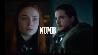 Jon & Sansa | Numb