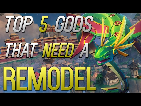 Top 5 Gods That Need A Remodel (SMITE)