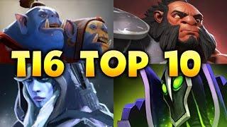TI6 TOP 10 - BEST EPIC AMAZING MOMENTS DOTA 2