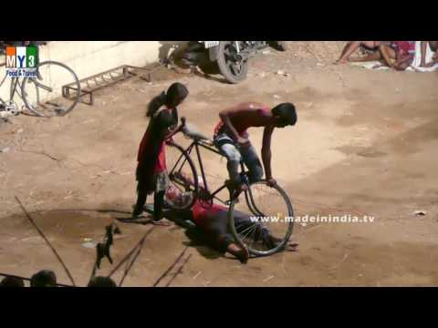 Village Cycle Circus | Cycleing Skills Event | Cycling Roadshow |  Indian Street Performers
