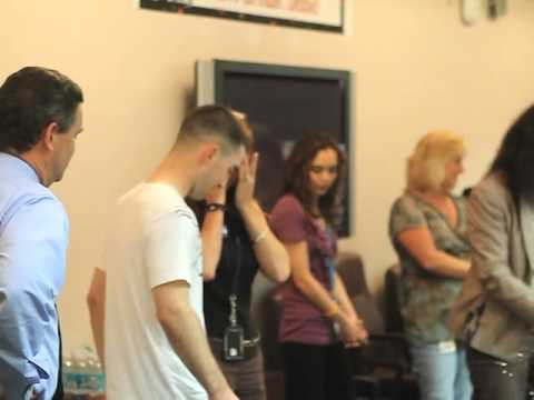 U.S. Soldier Surprises His Mom at Her 50th Birthday Party