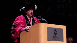 Stevens Institute of Technology: 2017  Ph.D. Hooding Ceremony and Faculty Awards