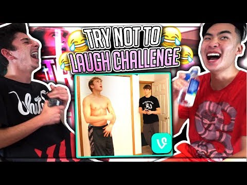 TRY NOT TO LAUGH CHALLENGE!! (ft. JAKE PAUL)