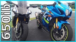 New 2017 Suzuki GSX-R1000R vs Yamaha R1M