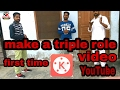 how to make a double role video in mobile | make a triple role video in kinemaster