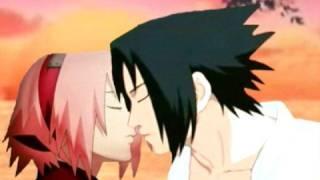 Sasuke and Sakura kissing scene 2: Sharingan Dream