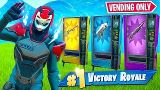 VENDING MACHINE *ONLY* Challenge In Fortnite!