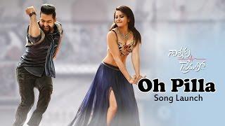 O Pilla Song Launch || Nannaku Prematho Audio Launch || Jr Ntr, rakul Preet