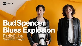 Bud Spencer Blues Explosion in concerto a Radio2 Live