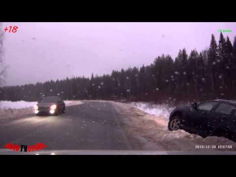 Ежедневная подборка ДТП и аварии №176 ( 6 января 2014 )  HD18+ Crash