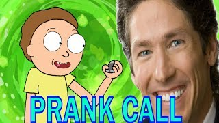MORTY PRANK CALLS JOEL OSTEEN CHURCH SERVICE (ANIMATED) FT. JUSTIN ROILAND