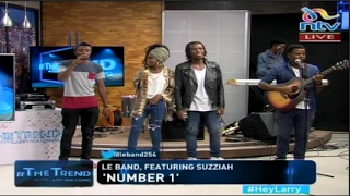 'NUMBER 1' - Le band ft Suzziah ( LIVE on #theTrend )