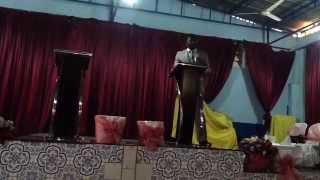 Ir. Sadrak Manuel - Inconformados - Movimento Cristão 2014