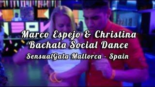 Marco Espejo & Christina - Bachata Social Dance 😊 @SGM