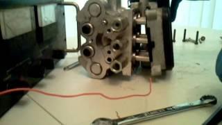 Inside an ABS Motor/Module Assembly
