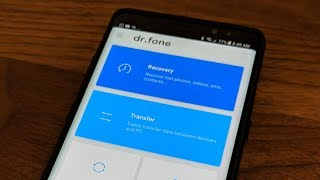 Dr.Fone can Recover Lost Data from your iPhone or Android Smartphone