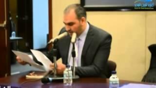 الشاعر محمد مصطفى خميس من احتفالية ملتقى ضفاف الثقافي بيوم الشعر العالمي