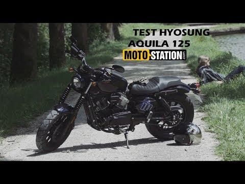 Test Hyosung Aquila 125 Surprenant Bobber