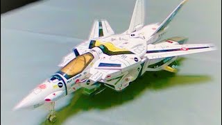 玩具レビュー 「 1/55 VF-1S スーパーバルキリー 」~超時空要塞マクロス~The Super Dimension Fortress Macross VF-1S SUPER VALKYRIE