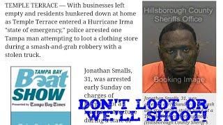 Hurricane Irma Tampa Update #4 / Rons Video Going Viral